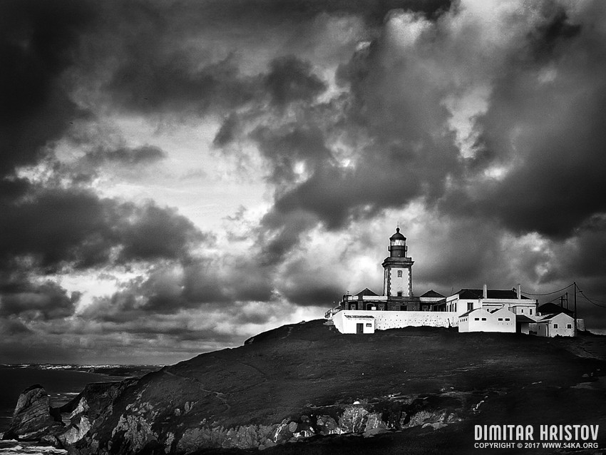 The Lighthouse | Cabo da roca photography landscapes featured black and white  Photo