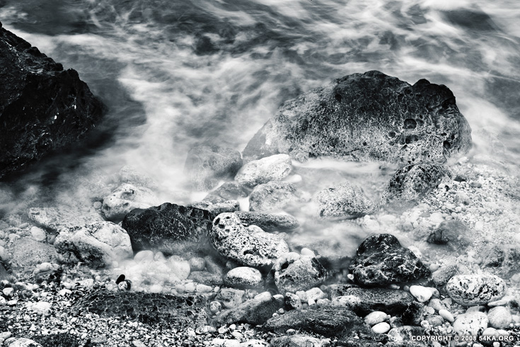 The Winter Sea V photography landscapes black and white  Photo