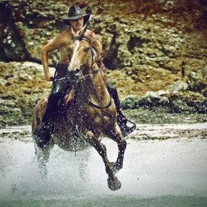 Water Horse Rider