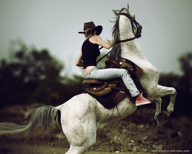 rider 015 by 54ka :: Horse Rider X :: photography index animals