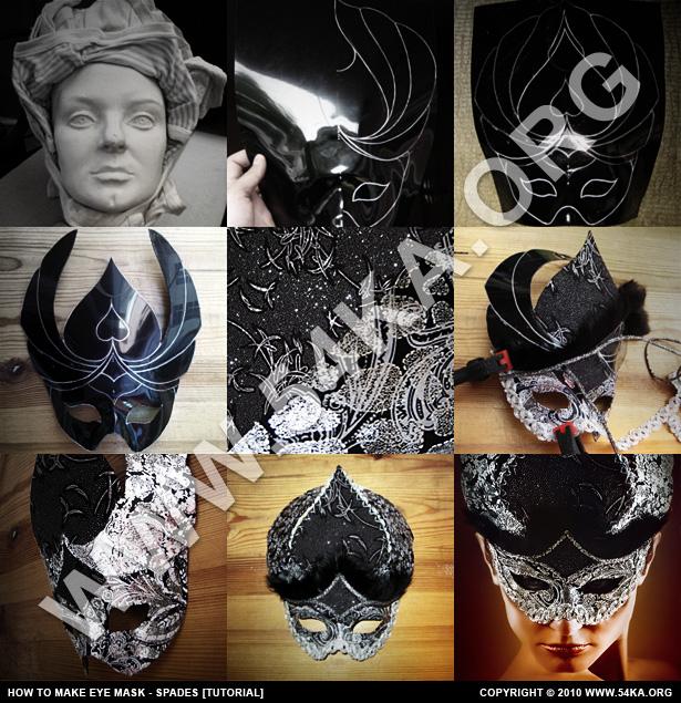 How to Make eye mask   Spades [Tutorial] photography tutorials  Photo