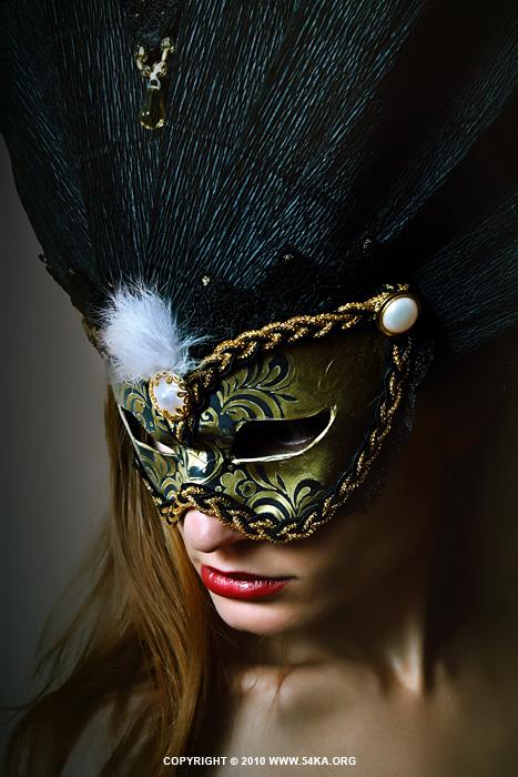 Midnight Eyes II   Venetian eye mask photography featured fashion  Photo