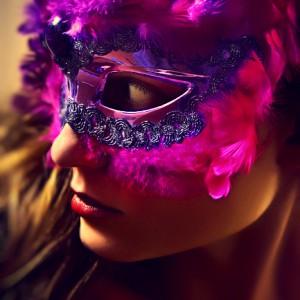 Cockatoo mask II – eye mask