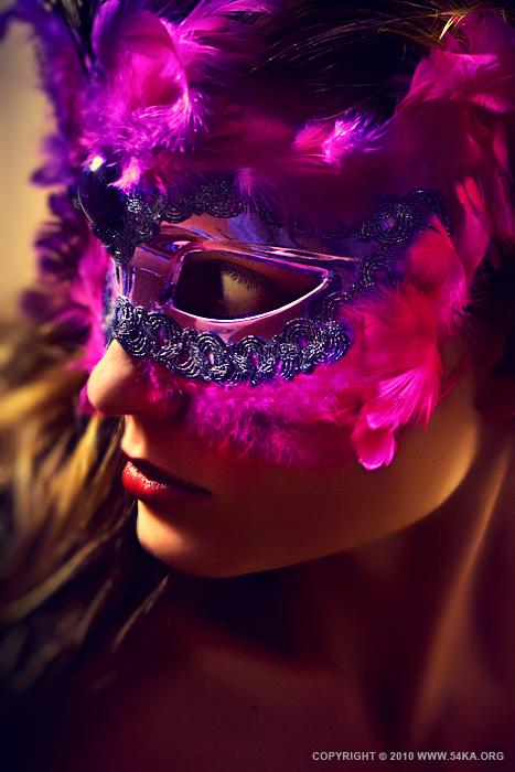 Cockatoo mask II   eye mask photography fashion  Photo