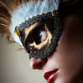 Feather mask II – eye mask