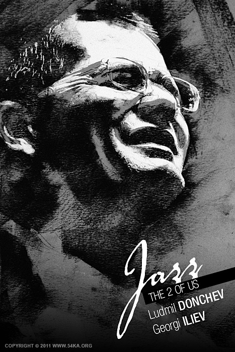 Jazz The 2 Of Us   Poster II photography other black and white  Photo