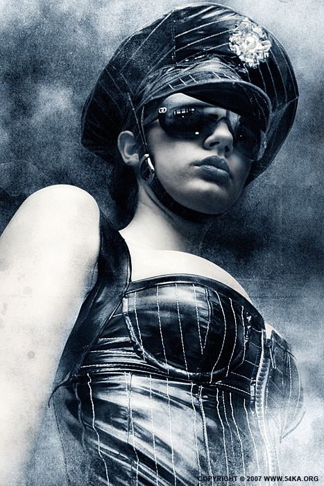 Latex Lady V photography photomanipulation featured fashion  Photo