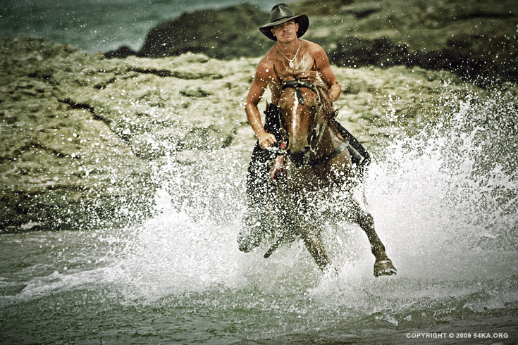 water horse rider 003 :: Water Horse Rider III :: photography index animals
