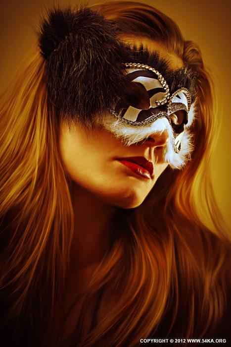 B&W Mask II   eye mask photography featured fashion  Photo