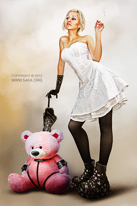 Teddy Bear photography photomanipulation best of fashion  Photo