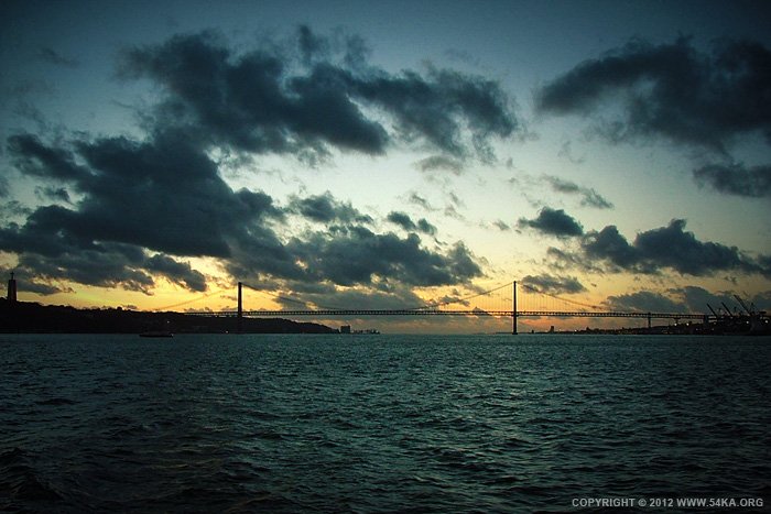 rio tejo sunset 01 by 54ka :: Rio Tejo   Sunset :: index