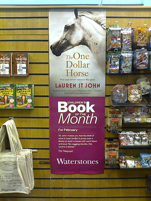 The Waterstones Childrens Book of the Month news  Photo
