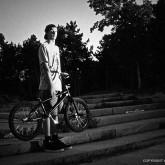 BMX Rider Portrait