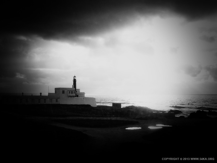 Black and White Lighthouse by 54ka :: Black and White Lighthouse :: photography landscapes