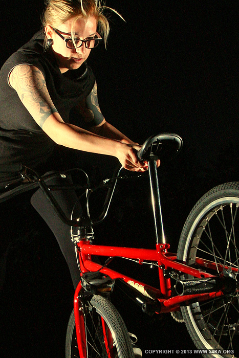 Bmx Girl Flatland by 54ka :: Bmx Girl   Flatland :: photography other