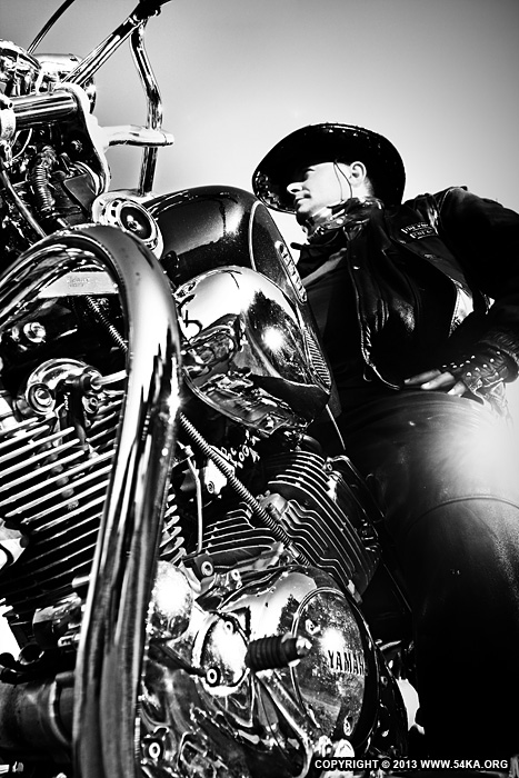 Motorcycle Lifestyles   Black & White Biker Man Portrait photography portraits other black and white  Photo