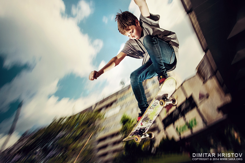 Freestyle Skateboarding Tricks photography other featured extreme  Photo