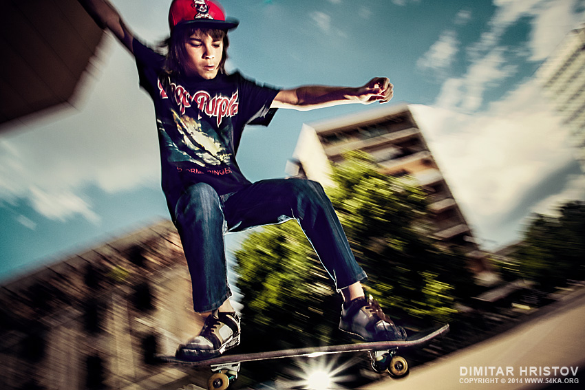 Young skateboarder jumping photography other featured extreme  Photo
