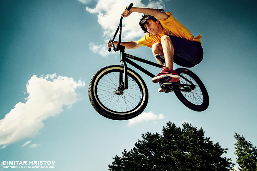 BMX High Jump photography other extreme  Photo
