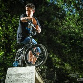 BMX Boy Outdoor Portrait