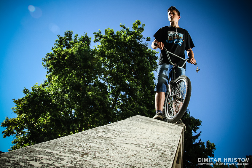 Portrait of the BMX cyclist photography portraits featured  Photo