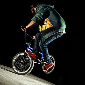 BMX Flatland trick