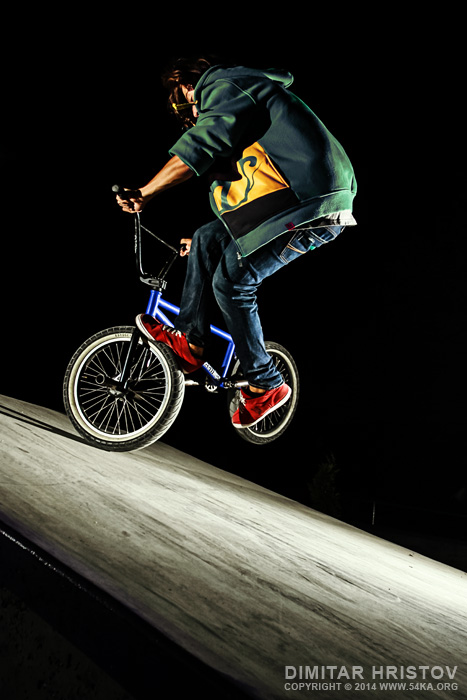 BMX Flatland trick photography other extreme  Photo