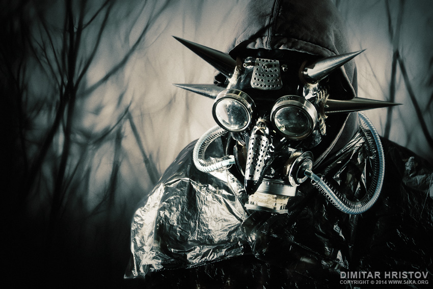 Lords of The Time   Dark face mask concept photography photomanipulation other top rated featured  Photo