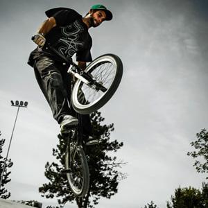 BMX Ramp Jump