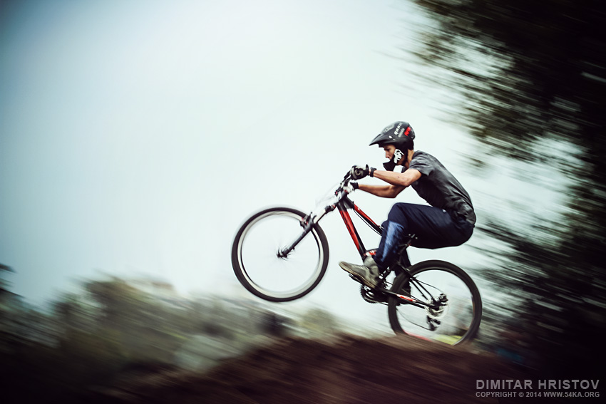 Mountain Bike Extreme Jumping photography other featured extreme  Photo