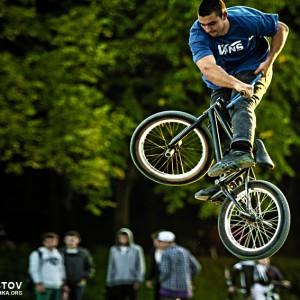 BMX Jumps and Tricks