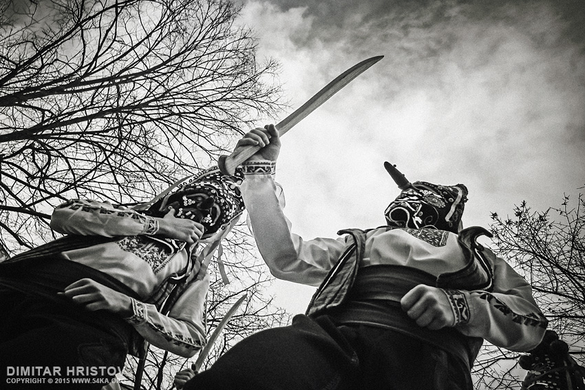 Kukeri Masquerade   International Festival of Masquerade Games photography other black and white  Photo