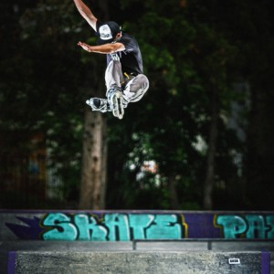 Roller Blade Jump