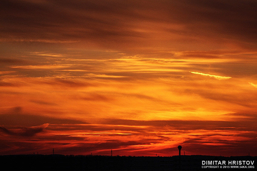 Red Sunset photography landscapes featured  Photo