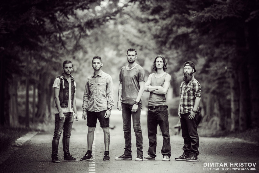 40 Days Later   Music Band photography portraits top rated black and white  Photo
