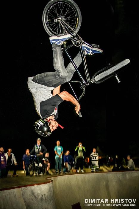 BMX Flip over head photography extreme  Photo
