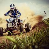 ATV Rider in the action – Extreme sport