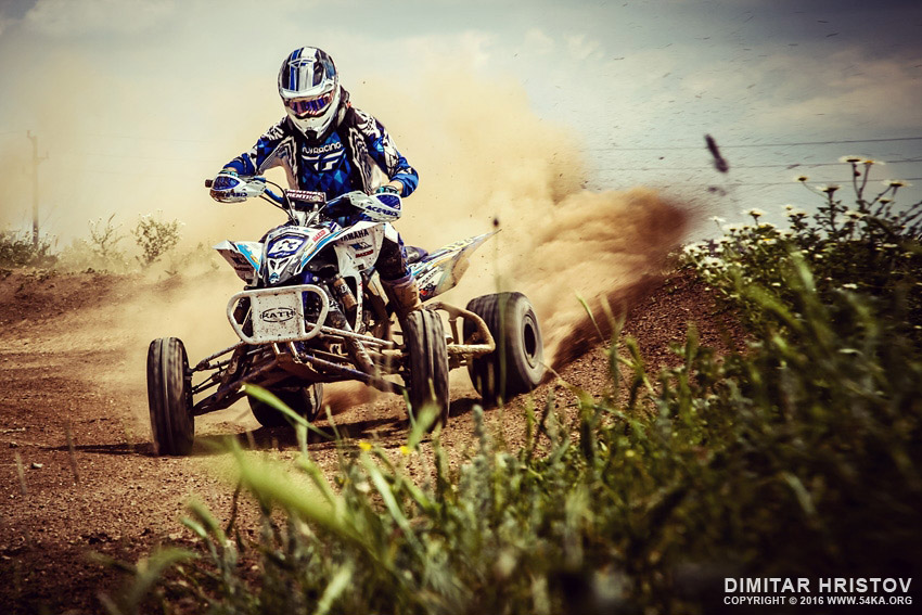 ATV Rider in the action   Extreme sport photography featured extreme  Photo
