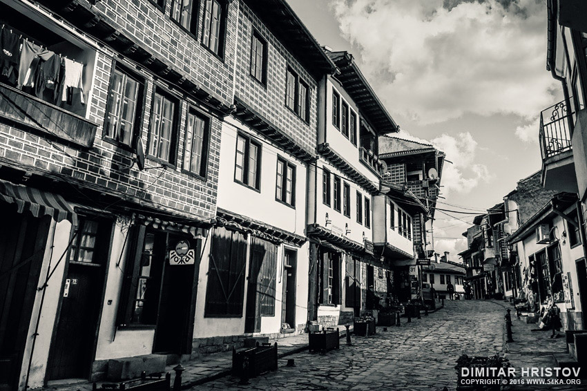 Old Town in Veliko Tarnovo photography urban daily dose black and white  Photo