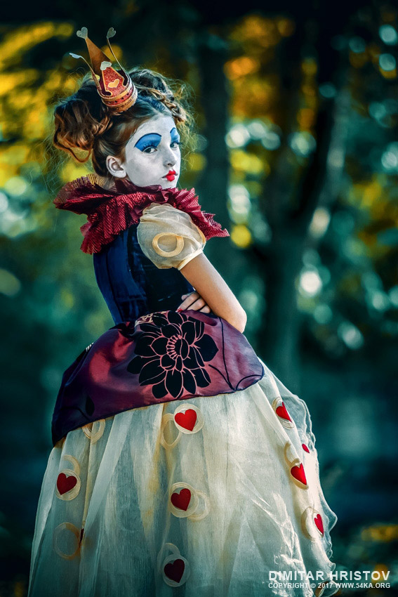 Angry Queen of Hearts – Alice in Wonderland photography other featured fashion  Photo