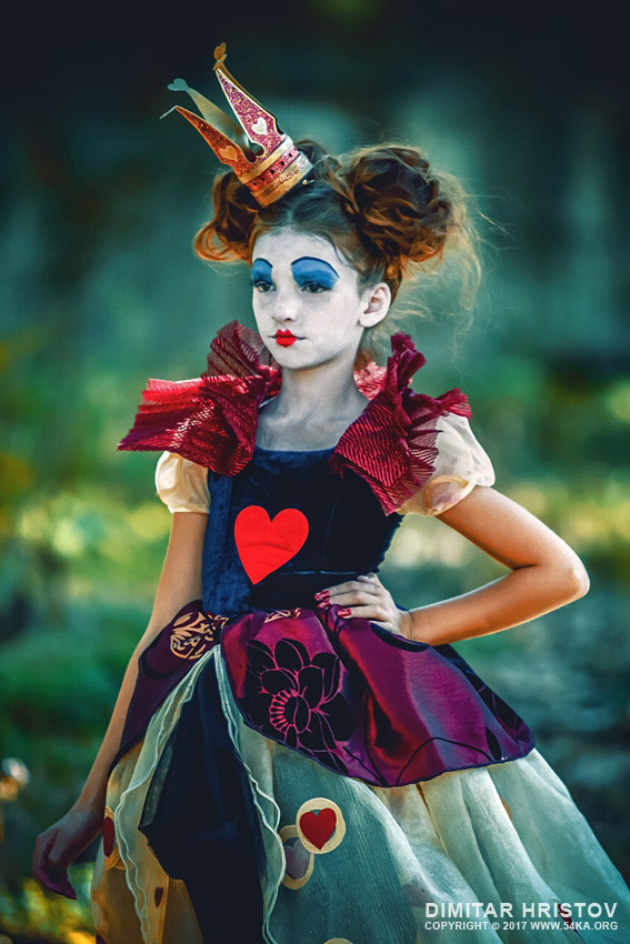 The Queen of Hearts   Alice in Wonderland photography other featured fashion  Photo