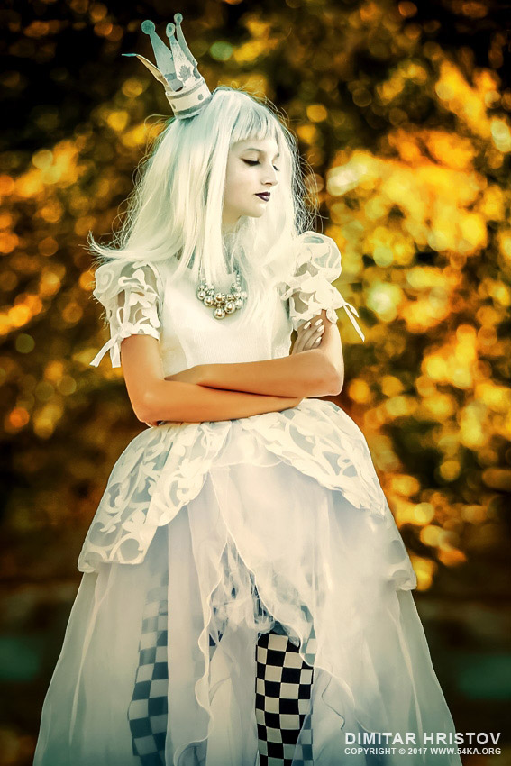 The White Queen   Alice in Wonderland photography other featured fashion  Photo
