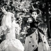 Alice in Wonderland – Black and white