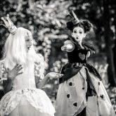 Alice in Wonderland – Black and white