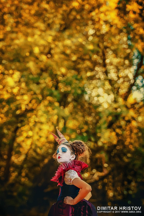 The Little Queen of Hearts – Alice in Wonderland photography portraits  Photo