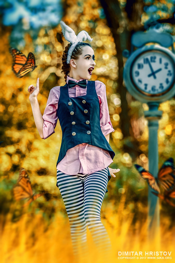 The Rabbit   Alice in wonderland photography other  Photo