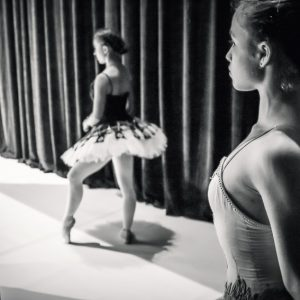 Ballet Dancer – Backstage