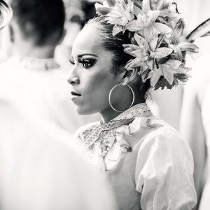 Colombian dancer – woman portrait