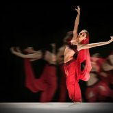 La Bayadere – Ballerina in red tutu ballet