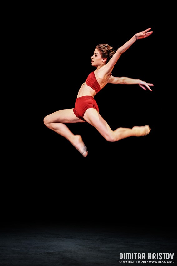 Modern style   ballet dancer jumping photography other  Photo